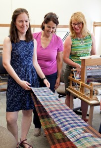 Weaving class with Tom Knisely