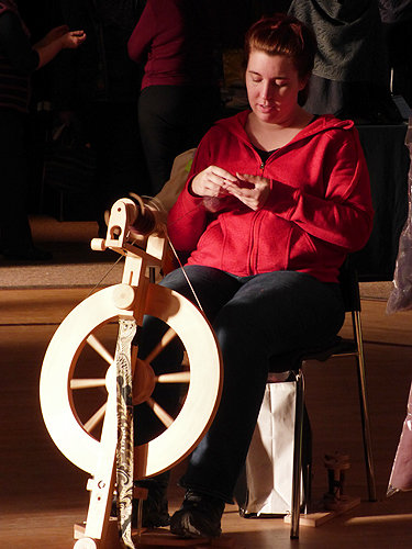 Sam spinning