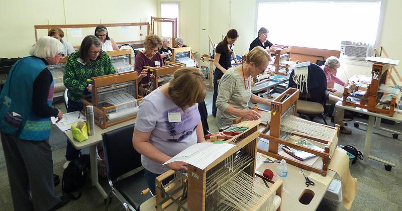 Beginning Weaving class